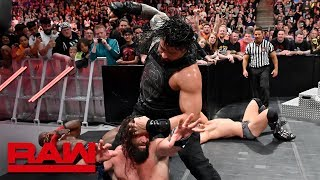 Roman Reigns &amp The Miz vs. Elias &amp Bobby Lashley Raw, May 13, 2019