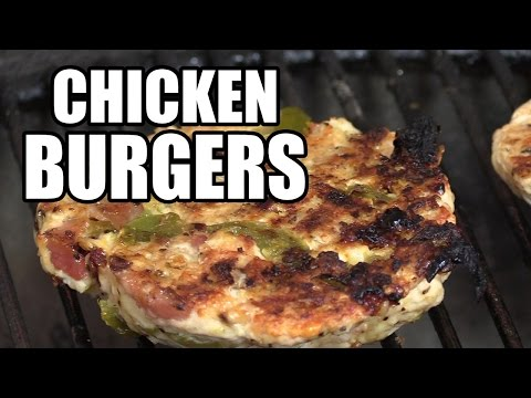 Chicken Burgers by the BBQ Pit Boys