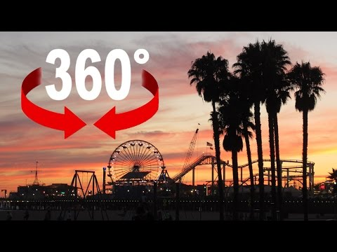Santa Monica Pier I California I 360 degree