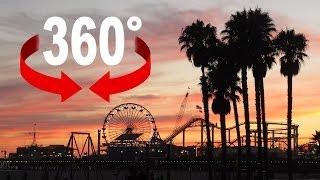 Santa Monica Pier I California I 360 degree