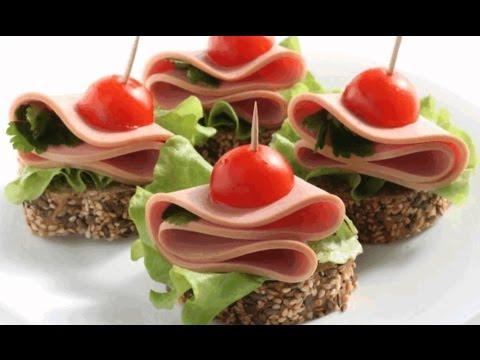 как сделать красивые бутерброды фото и рецепты