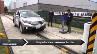 Low-speed crash test 2014 Honda CRV
