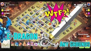WTF!! ELECTRO DRAGON & ANY GROUNDS ATTACK STRATEGY TH12 ( Clash of Clans )
