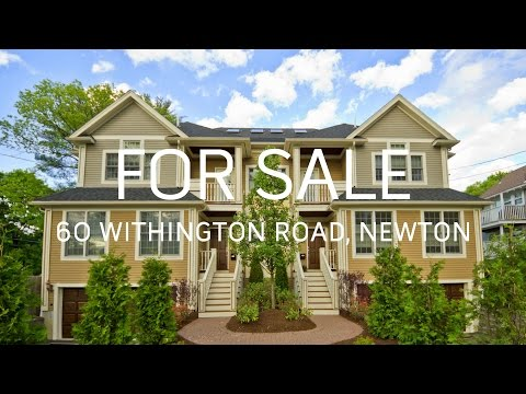 Luxury Newtonville Townhome For Sale - 60 Withington Road, Newtonville, MA 02460