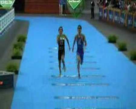 Junior Men's Sprint Finish - European Triathlon Champs 2008