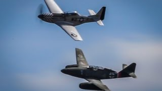 RARE VIDEO- Messerschmitt Me-262 flying at Wings Over Houston Airshow