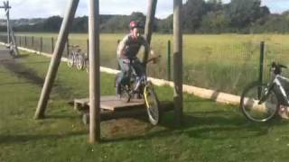 More of Callums bike stunts
