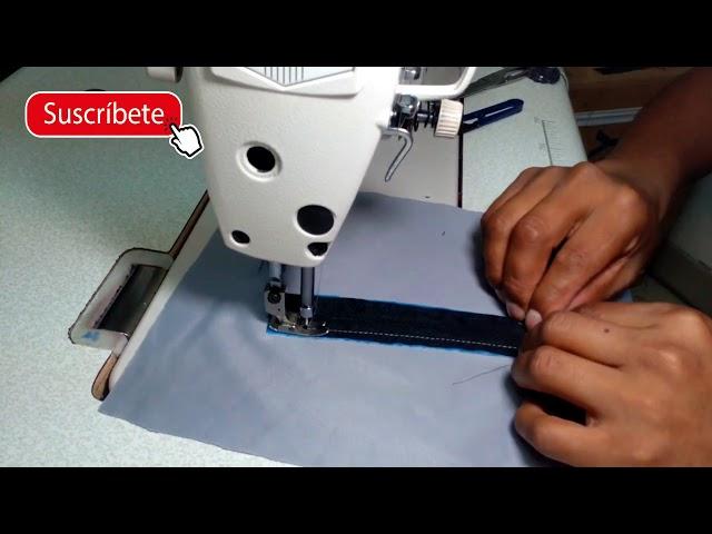 Como hacer bolsillo con cierre y pestaña| Tips de confección