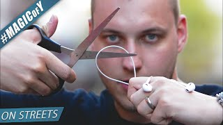 CUTTING PEOPLES HEADPHONES - Magic of Y on streets S01E05