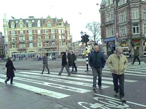 Walking Muntplein Amsterdam