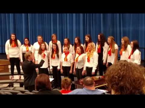05 10 2016 Newcomerstown High School Choir 07 Women