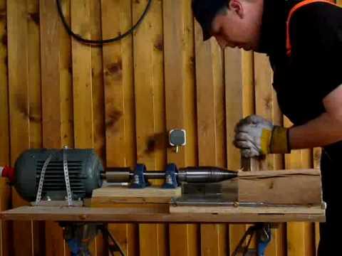 Außergewöhnlich Kegelholzspalter Eigenbau Holzspalter Drillkegel Kegelspalter #LU_27