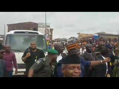 Osinbajo And Ambode In Lagos