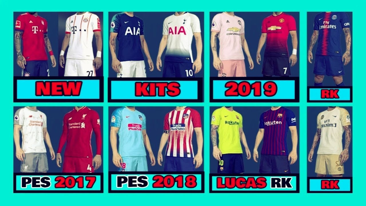 7914c0047 NEW KITS 2019 PES 2017 PES 2018 DOWNLOAD PC - YouTube