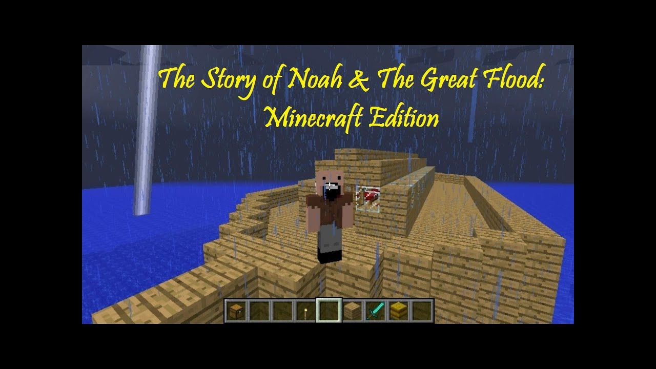 how to get rid of a flood in minecraft