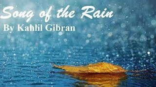 song-of-the-rain-by-kahlil-gibran