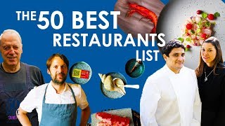 Here Are The World's 50 Best Restaurants 2019!