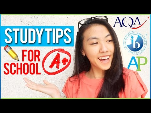 ✏️20 EXAM STUDY TIPS & Organization Hacks for High School, Middle School, College, Tests + Finals!📚