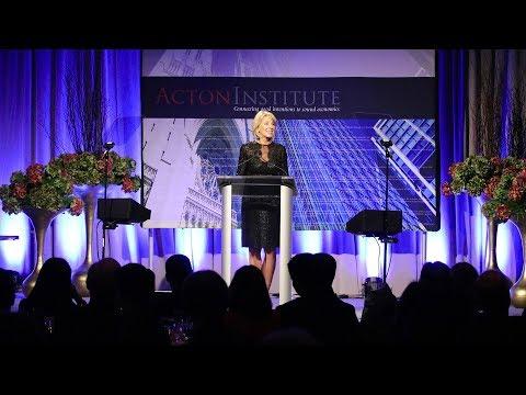 Acton Institute 27th Anniversary Dinner: Secretary Betsy DeVos