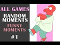 ALL GAMES FUNNY RANDOM MOMENTS - LOVE AND SEX - #1