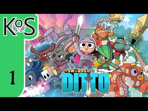 Swords of Ditto Ep 1: LIKE GROUNDHOG DAY WITH TOYS - First Look - Let's Play, Gameplay