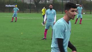 APOEL vs ACHNA F C  14.10.18 from Enfield Playing Fields 3G Astro