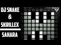 Dj Snake & Skrillex - Sahara // Launchpad Cover + Project File