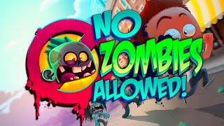 No Zombies Allowed - Cartoon Game for Kids - HD Gameplay Trailer #GamesForKids