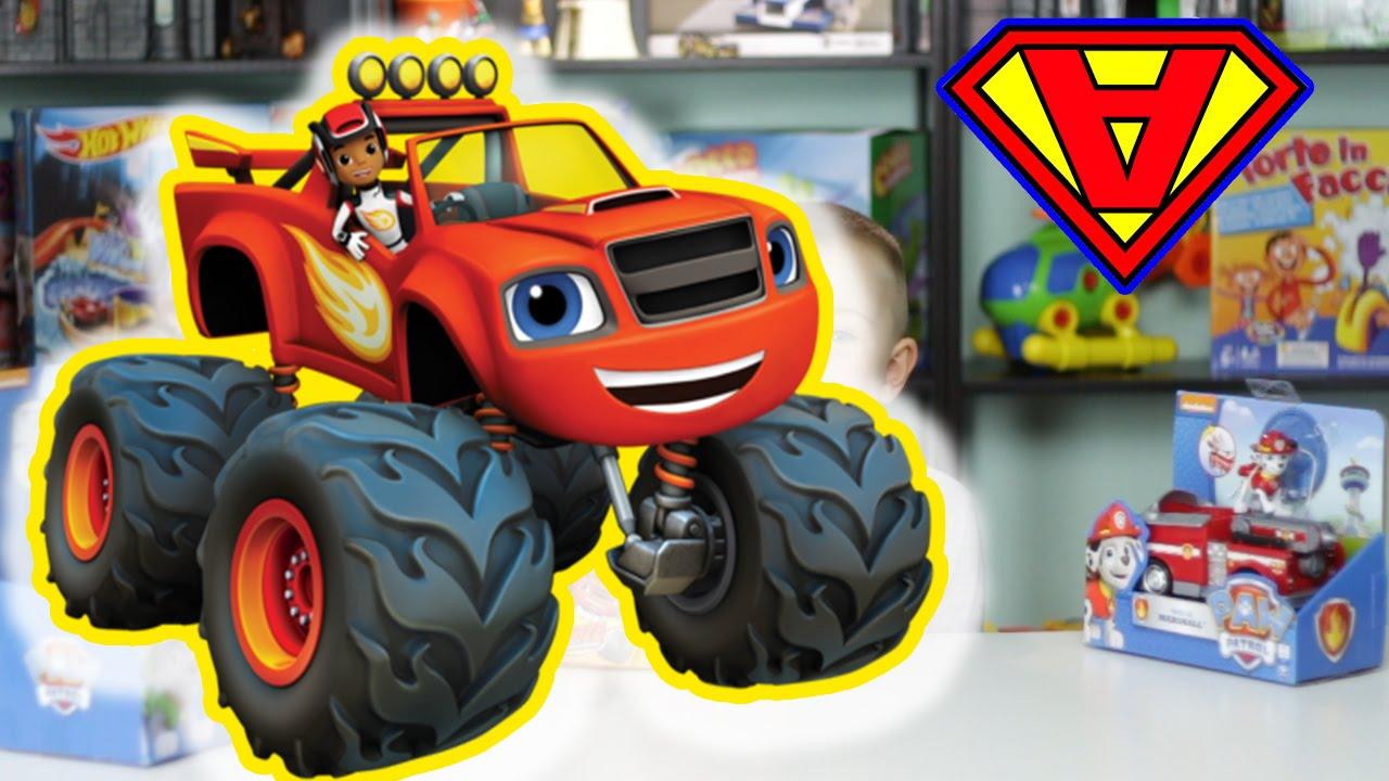 Blaze e le mega macchine nuovo episodio con apertura for Cartoni blaze