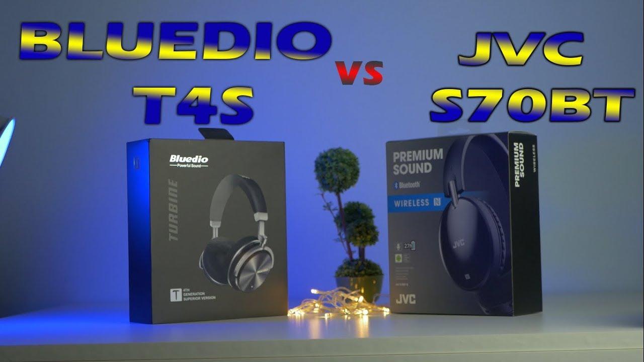 Budget headphones battle! JVC S70BT VS BLUEDIO T4S - YouTube cec8642124