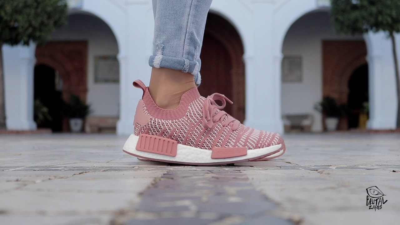 9cb47014b07cb REVIEW ADIDAS NMD R1 STLT PK W - CQ2028 - YouTube