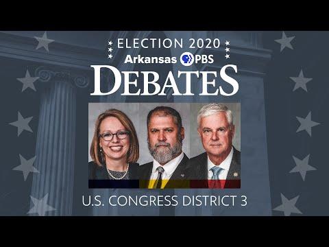 Arkansas PBS U.S. Congressional District 3 Debate