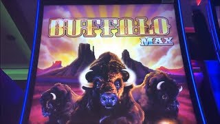 ★NEW!! BUFFALO MAX☆Re-Trigger Festival Buffalo Max Slot machine (Aristocrat) @San Manuel Casino☆彡栗