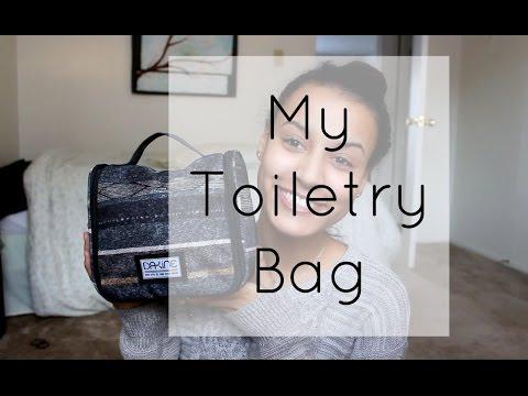 My Toiletry Bag | Minimalist travel