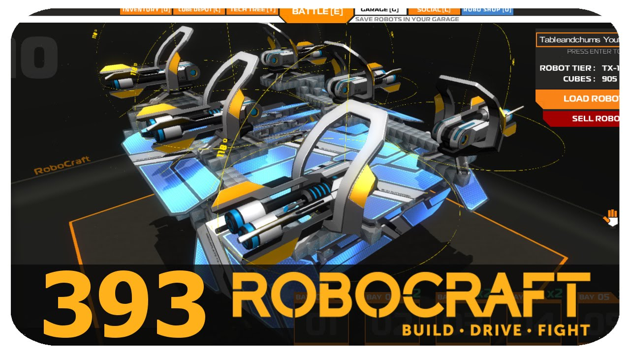 how to make the best bot in robocraft