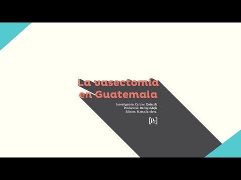 La poca aceptación de la vasectomía en Guatemala