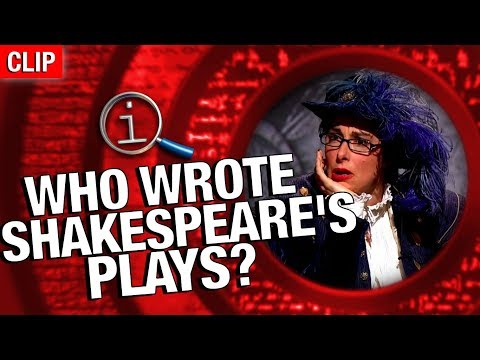 QI | Who Wrote Shakespeare's Plays?