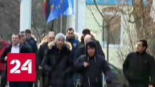Новый президент Молдавии снял флаг ЕС со своей резиденции