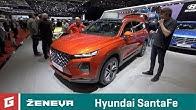 Hyundai SantaFe SUV a vodíkové Nexo - GARÁŽ.TV - Ženeva 2018