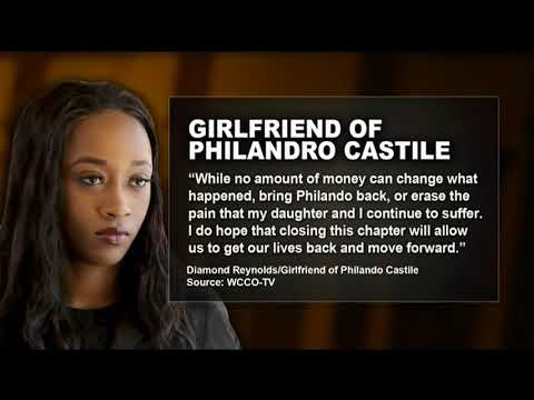Philando Castile's Girlfriend Diamond Reynolds To Receive $800K Settlement