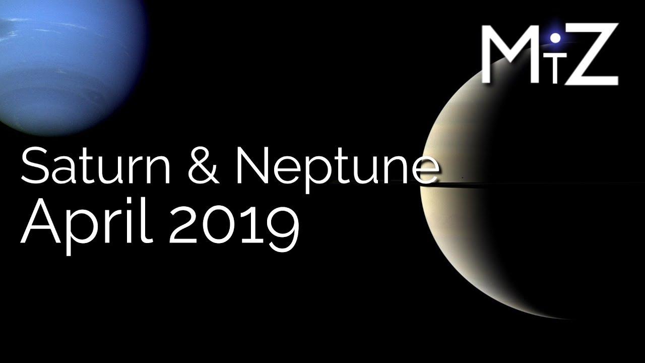 Sun Square Saturn & Venus Conjunct Neptune April 9th 2019 - True Sidereal  Astrology