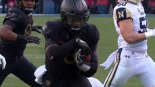 Army Football: Kelvin Hopkins First Touchdown Run vs. Navy 12-8-18