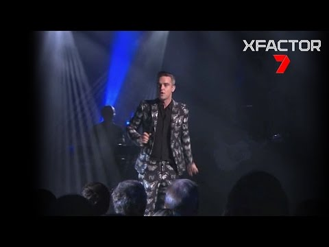 Robbie Williams's performance of 'Love My Life' - The X Factor Australia 2016