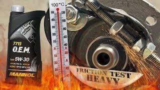 Mannol 7713 O.E.M 5W30 Jak skutecznie olej chroni silnik? 100°C