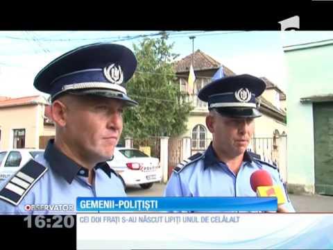 Sandor și Szabolcs, doi frați gemeni, de meserie polițiști, salvează vieți în Miercurea Ciuc