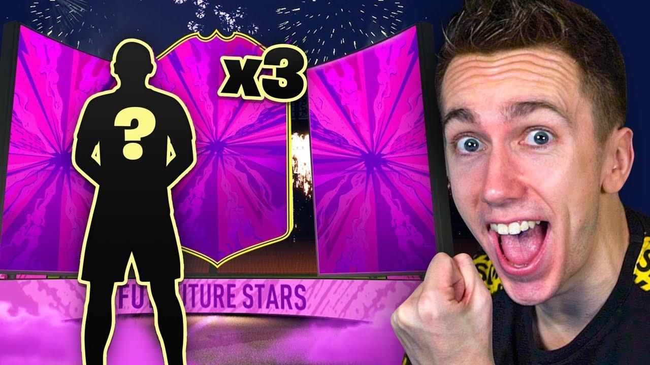 3 FUTURE STARS - FIFA 20 PACK OPENING thumbnail