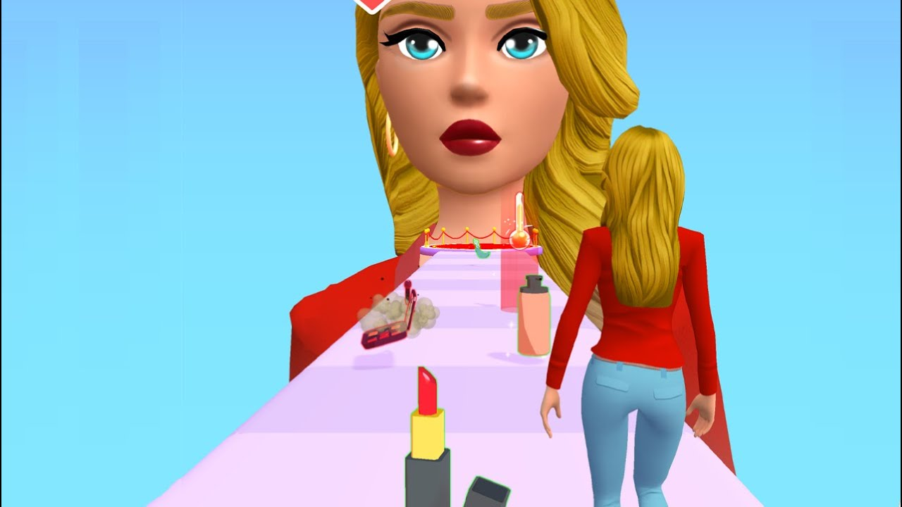 Beauty Walk 3D 👸💄 NEW LEVELS!! All Levels Gameplay Android,ios