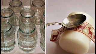 Соседка купила 3 белые Высокие Свечи и Поставила их в Прозрачную вазу, а затем…