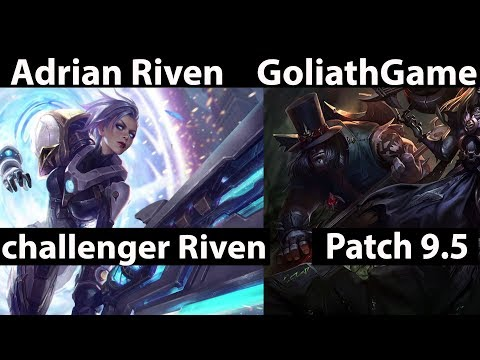 [ Adrian Riven ] Riven vs Yorick [ GoliathGames ] Top - Adrian Riven Stream Patch 9.5.mp4
