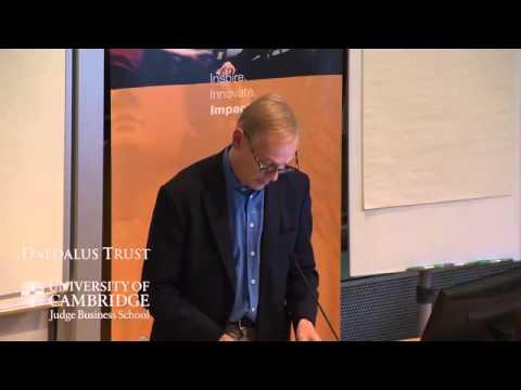 Conference 2013: Martin Taylor: pressures on senior businessmen